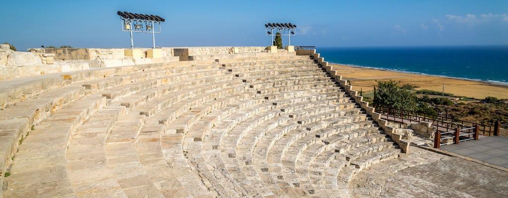 Kourion, Kolossi & Weingut-Tour