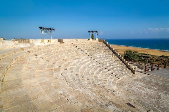 Kourion, Kolossi & Winery Tour