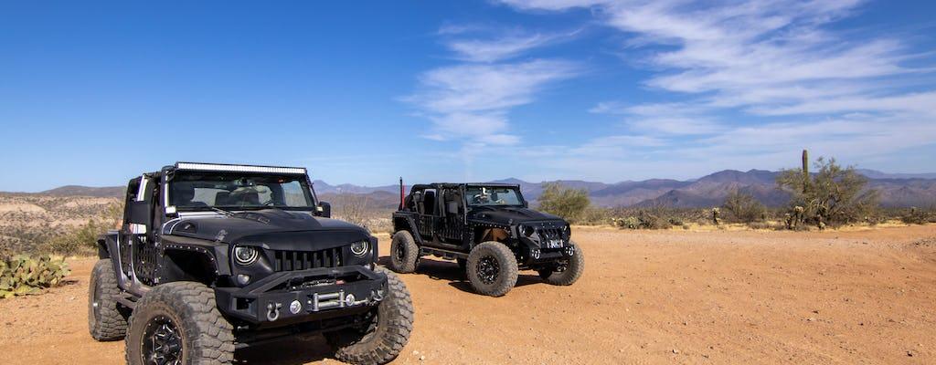Excursion en jeep au coucher du soleil dans le désert de Sonora