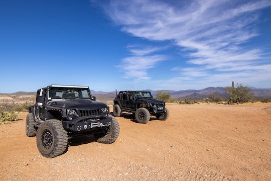 Sunset Sonoran Desert Jeep Tour