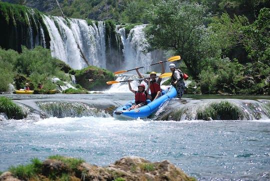 Safari in canoa sul fiume Zrmanja
