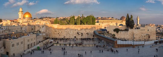 Historic and modern Jerusalem full-day tour from Tel-Aviv