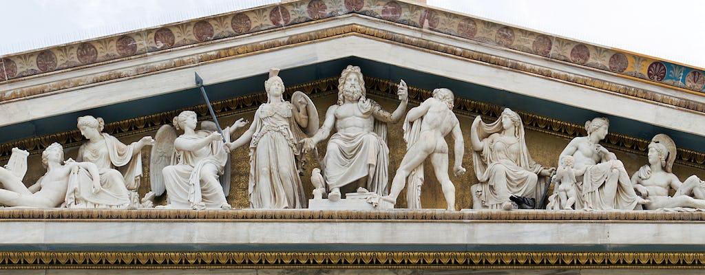 Búsqueda del tesoro privada de la mitología griega para niños