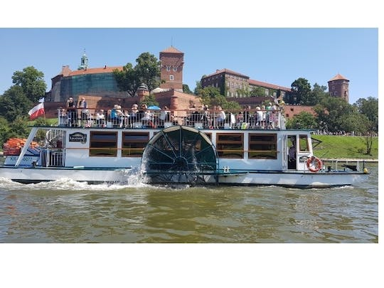 Sightseeing cruise on the Vistula river in Krakow