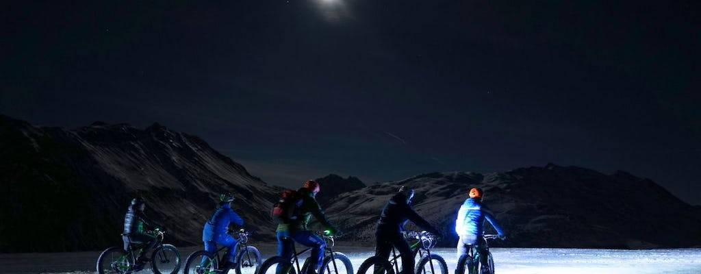 Excursion nocturne en Fat Bike