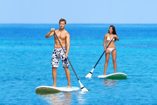 Paddle surf rental in Palma de Mallorca