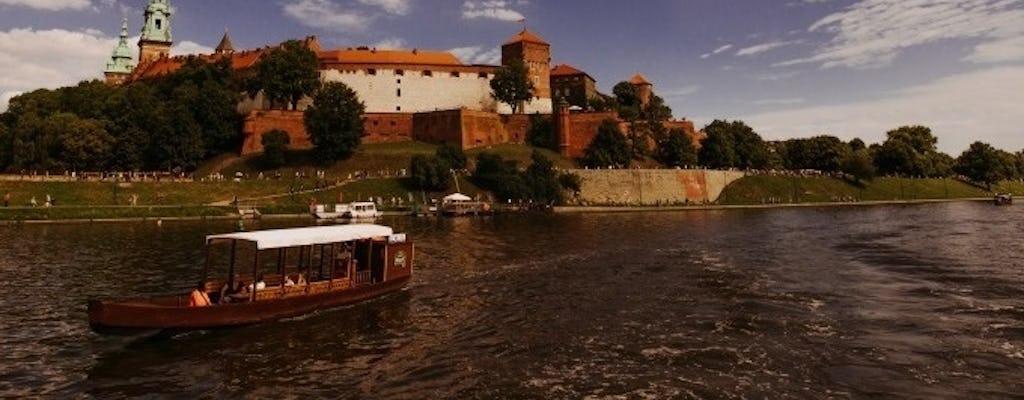 Private cruise on the Vistula on a traditional gondola