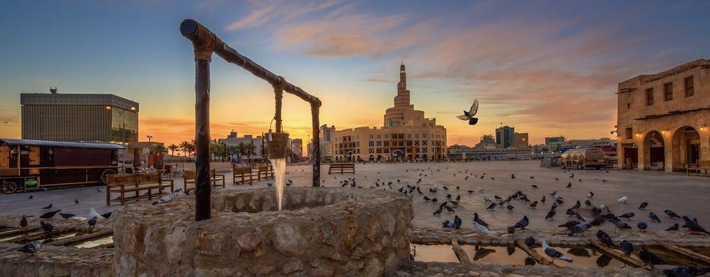 Tour di mezza giornata di Doha con pranzo