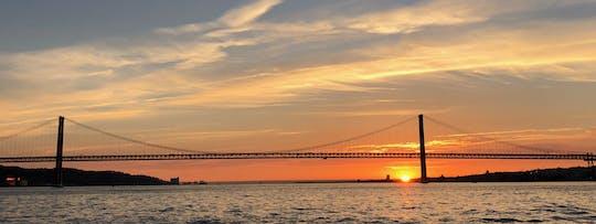 Lisbon sailboat tour at sunset