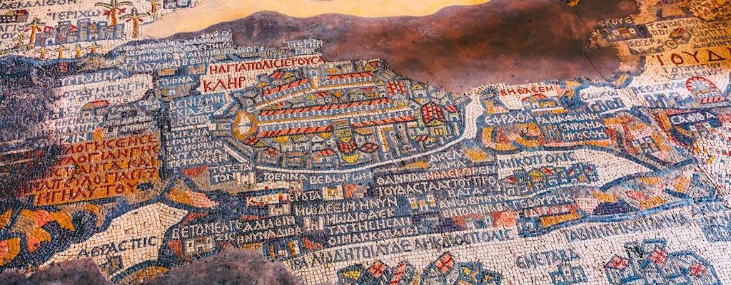 Prive-christelijke tour door Madaba, Mount Nebo en Mukawer vanuit de Dode Zee