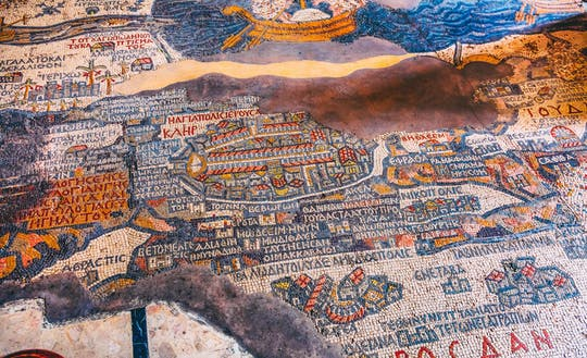 Private Christian tour of Madaba, Mount Nebo and Mukawer  from the Dead Sea