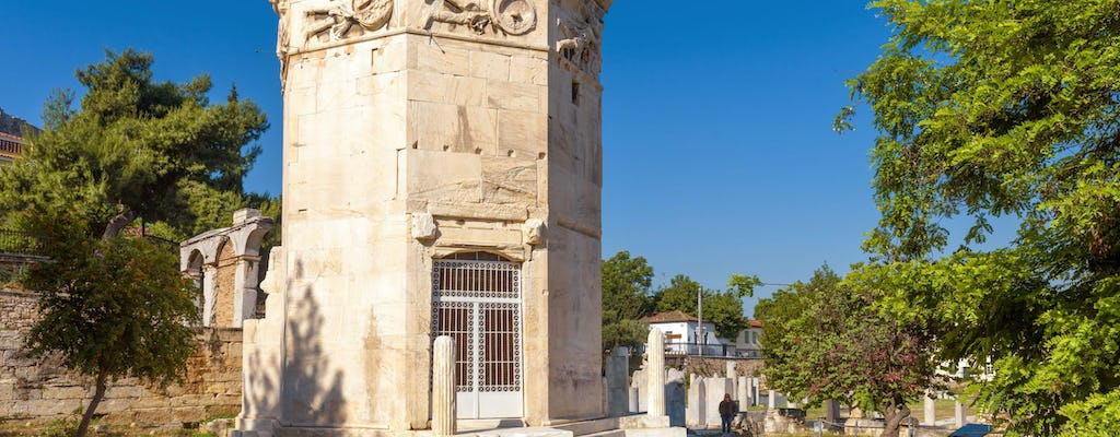 Roman Agora of Athens skip-the-line admission tickets