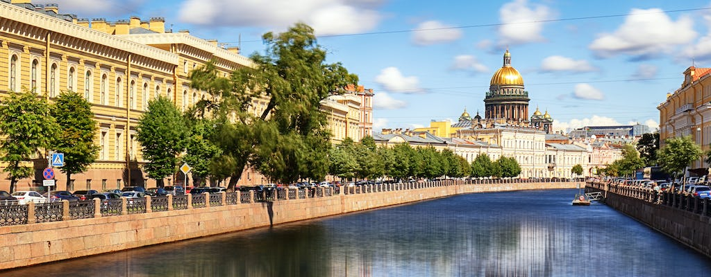 Northern Venice boat tour in St. Petersburg