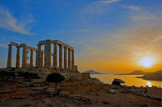 Après-midi, visite du cap Sounion d'Athènes