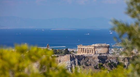 Во второй половине дня экскурсия холм Ликавиттос в Афинах