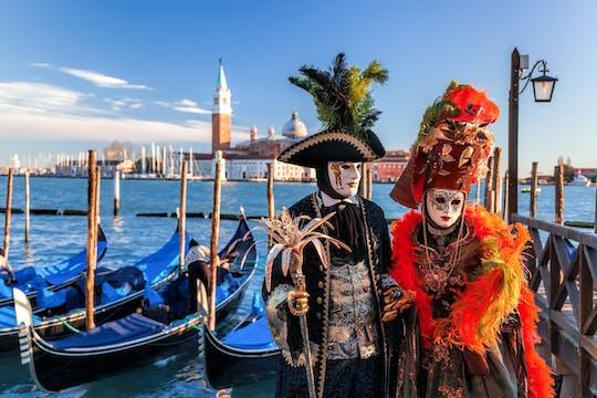 Carnival treasure hunt in Saint Mark's Square