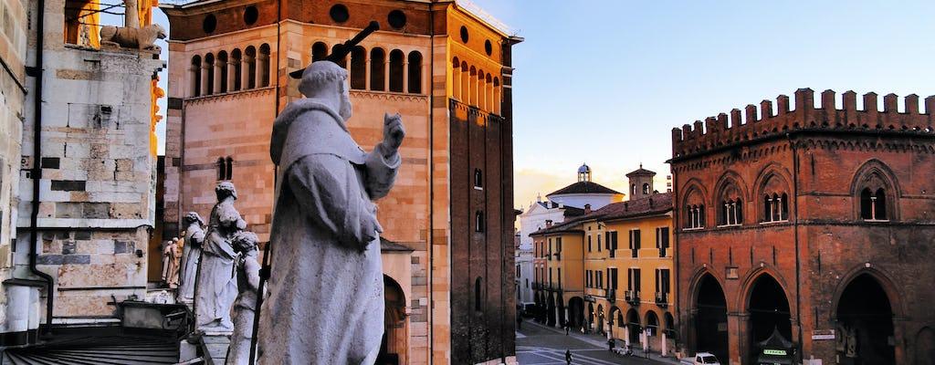 Tour privado a pie de 3,5 horas por Cremona y Museo del violín