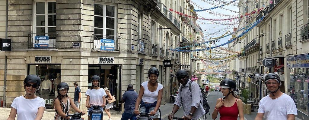 Selbstausgleichende Scooter-Stadtrundfahrt durch Nantes