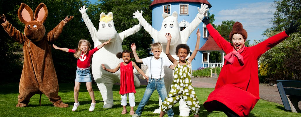 Ingressos de entrada do Moominworld
