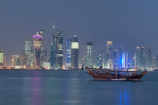 2-hours Doha Dhow cruise and corniche walk