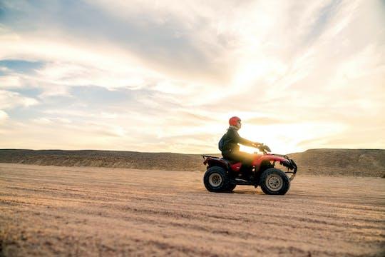 Quad Wüsten-Erlebnis bei Sonnenuntergang