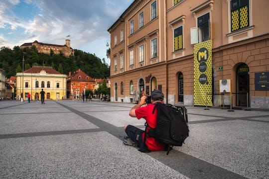 Tour fotográfico em Ljubljana