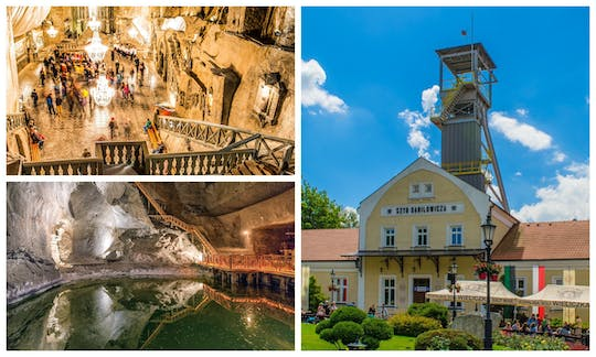 Wieliczka Salt Mine half-day excursion from Krakow with guided tour and pick-up