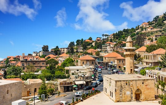 Beirute, Beiteddine, Deir el Qamar de dia inteiro