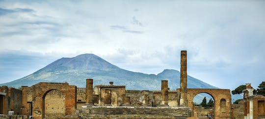 Pompeii and Vesuvius skip-the-line small group tour