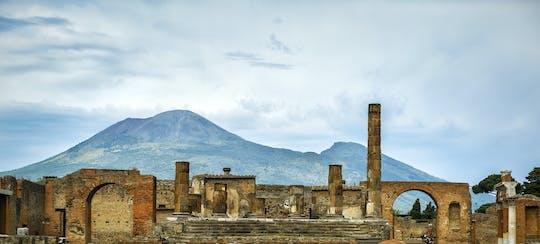 Excursão sem filas para pequenos grupos em Pompéia e Vesúvio