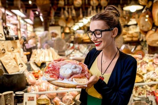 Caja de degustación de comida de Bolonia