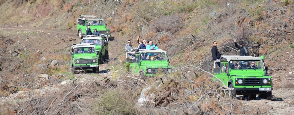 Jeep Safari to the Taurus Mountains with Lunch at Dimcay River
