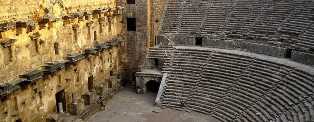 Day-tour to the Temple of Apollo, Aspendos and Manavgat Waterfalls from Alanya