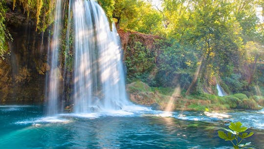 Day-tour to Duden Waterfalls, Temple of Apollo and Aspendos from Alanya