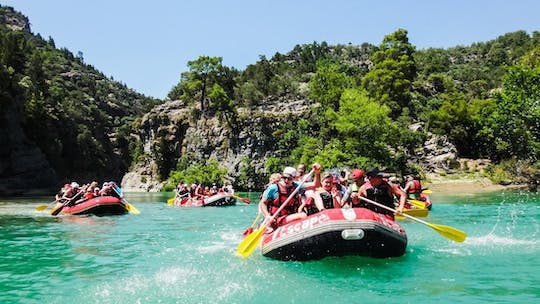 Rafting Experience and Jeep Safari Adventure from Alanya