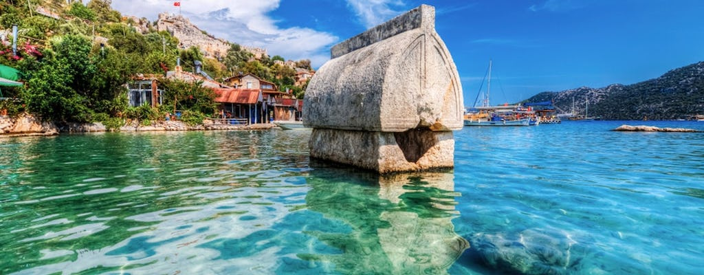 Day-tour to the Sunken City of Kekova, to Demre and to Myra from Alanya