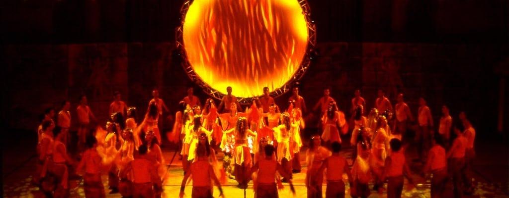 Espectáculo de Fire of Anatolia en el Gloria Aspendos Arena de Alanya