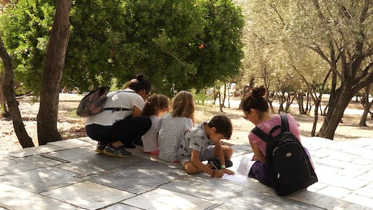 Ancient Athens for kids two-hour private walking tour