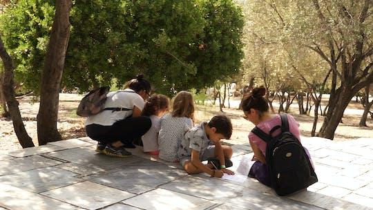 Visita privada a pie de dos horas a la antigua Atenas para niños