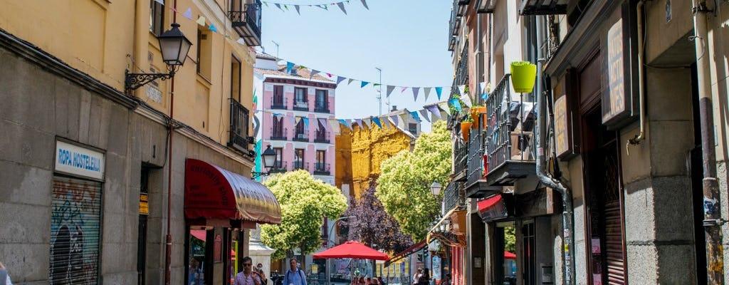 Paseo de descubrimiento autoguiado en el Barrio de las Letras de Madrid