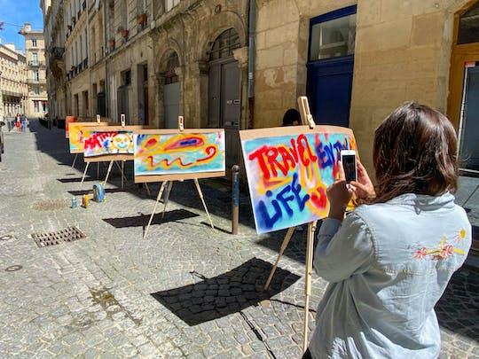Visite privée et initiation au street art à Bordeaux