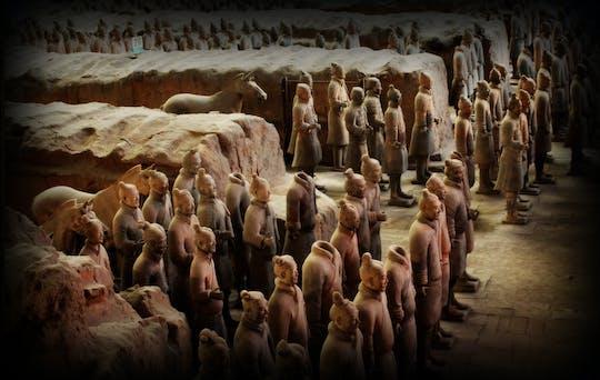 Tour privado flexible de Xian de guerreros de terracota