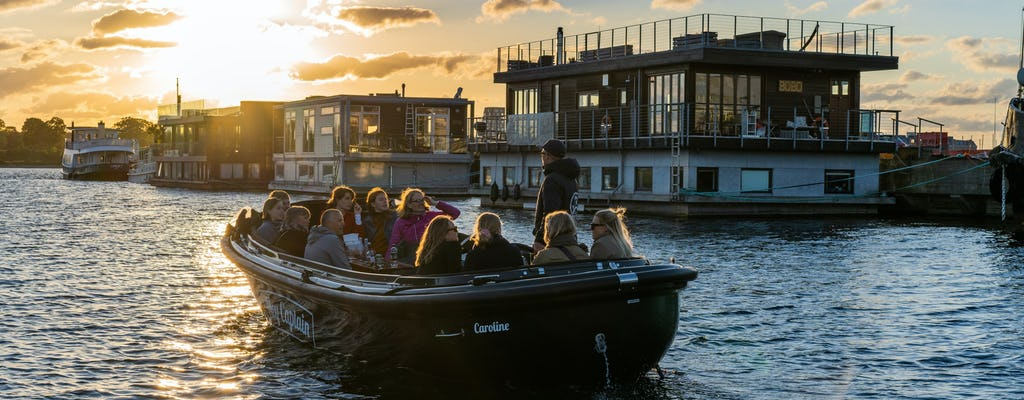 Hidden gems boat tour of Copenhagen