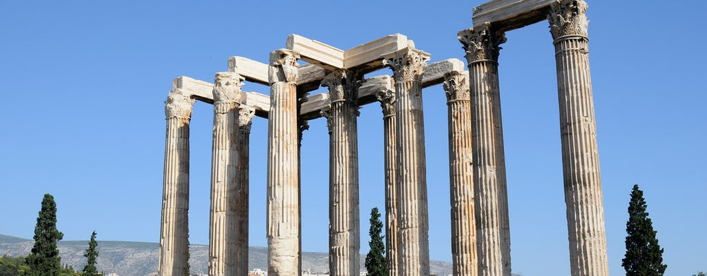 Tour privado a pie de cuatro horas por Atenas para niños