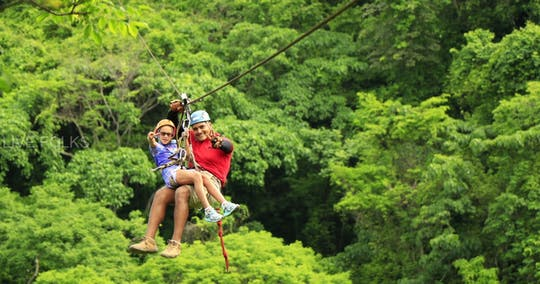 Anton Valley zipline adventure