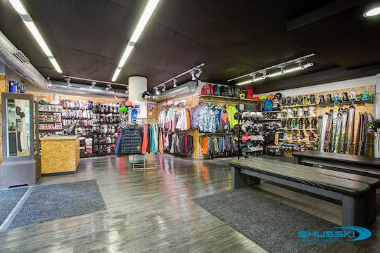 Single Ski & Snowboard Equipment