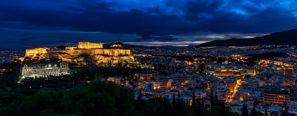 Athens by night private guided tour