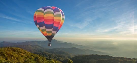 Hot air balloon tour in Agadir