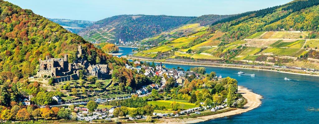 Ticket für Rheinschlösser-Schiffsfahrt ab Rüdesheim