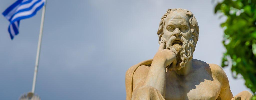 Mity i filozofowie Wycieczka piesza po Atenach